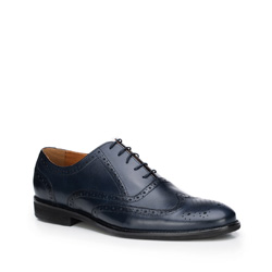 Männer Schuhe, dunkelblau, 87-M-702-7-41, Bild 1