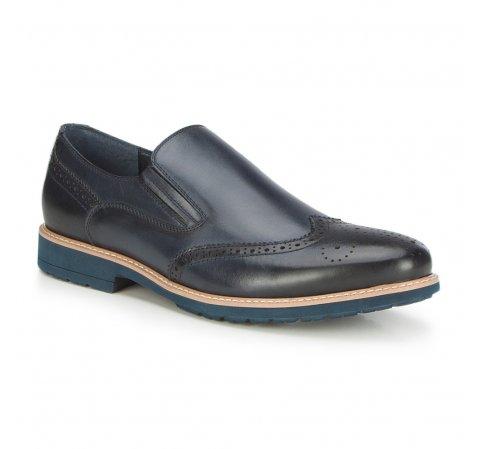 Männer Schuhe, dunkelblau, 87-M-901-7-40, Bild 1