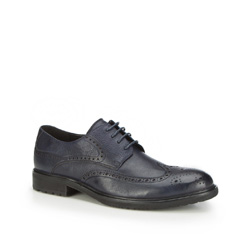 Männer Schuhe, dunkelblau, 87-M-918-7-42, Bild 1