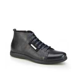 Männer Schuhe, dunkelblau, 87-M-931-7-43, Bild 1