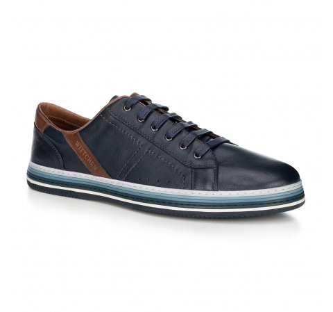 Männer Schuhe, dunkelblau, 88-M-803-7-39, Bild 1