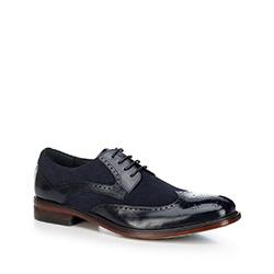Männer Schuhe, dunkelblau, 88-M-804-7-43, Bild 1