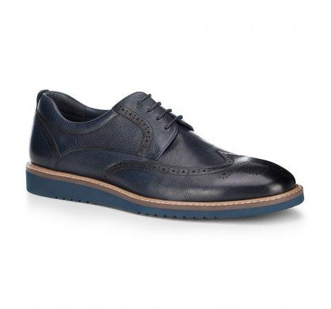 Männer Schuhe, dunkelblau, 88-M-806-7-43, Bild 1