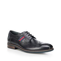 Männer Schuhe, dunkelblau, 88-M-811-7-43, Bild 1