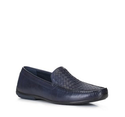 Männer Schuhe, dunkelblau, 88-M-901-7-39, Bild 1
