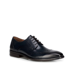Männer Schuhe, dunkelblau, 89-M-904-7-45, Bild 1