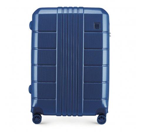 dunkelblauer Koffer aus der Trail Style 2-Kollektion