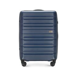 Mittelgroßer Koffer, dunkelblau, 56-3T-752-90, Bild 1