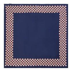 Frauenhalstuch, dunkelblau-rot, 89-7D-S14-X2, Bild 1