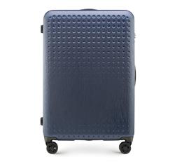 Großer Koffer, dunkelblau-rot, 56-3A-413-90, Bild 1