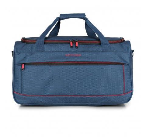 dunkelblau-rote Reisetasche aus der Bon Voyage I-Kollektion