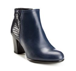 Schuhe, dunkelblau, 85-D-206-7-39, Bild 1
