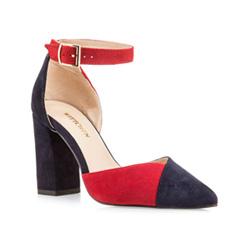 Schuhe, dunkelblau, 85-D-251-7-39, Bild 1