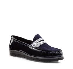 Schuhe, dunkelblau, 85-D-350-7-40, Bild 1