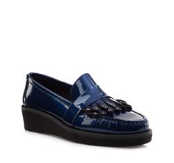Schuhe, dunkelblau, 85-D-351-7-37, Bild 1