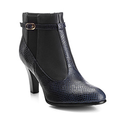 Schuhe, dunkelblau, 85-D-510-7-39, Bild 1