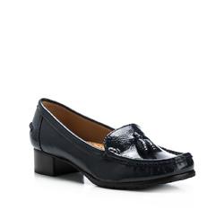 Schuhe, dunkelblau, 85-D-704-7-39, Bild 1