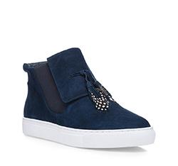 Schuhe, dunkelblau, 85-D-906-7-35, Bild 1