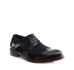 Schuhe, dunkelblau, 85-M-810-7-44, Bild 1