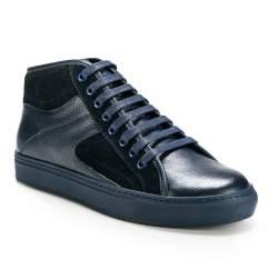 Schuhe, dunkelblau, 85-M-952-7-39, Bild 1