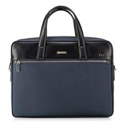 Laptoptasche, dunkelblau-schwarz, 88-3U-201-7, Bild 1
