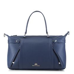 Shopper-Tasche, dunkelblau, 88-4E-301-7, Bild 1