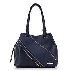Shopper-Tasche, dunkelblau, 88-4Y-405-7, Bild 1