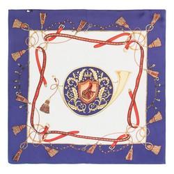 Frauen Halstuch, dunkelblau-weiß, 86-7D-S14-X07, Bild 1