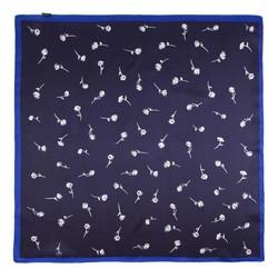 Frauen Halstuch, dunkelblau-weiß, 86-7D-S14-X12, Bild 1