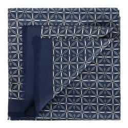 Herrenschal, dunkelblau-weiß, 88-7M-S40-X4, Bild 1