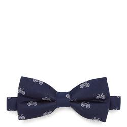 Krawatte, dunkelblau-weiß, 87-7I-001-X5, Bild 1