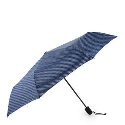 Regenschirm, dunkelblau-weiß, PA-7-162-X5, Bild 1