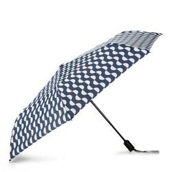 Regenschirm, dunkelblau-weiß, PA-7-163-X1, Bild 1