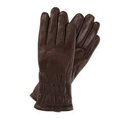 Damenhandschuhe, dunkelbraun, 39-6-505-B-L, Bild 1