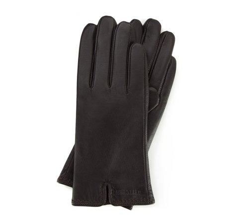 Damenhandschuhe, dunkelbraun, 39-6L-213-1-S, Bild 1