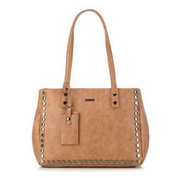 Einkaufstasche, dunkelbraun, 87-4Y-561-4, Bild 1