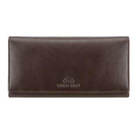 Geldbörse, dunkelbraun, 14-1-075-41, Bild 1