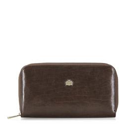 Handgelenk-Tasche, dunkelbraun, 10-3-120-4, Bild 1