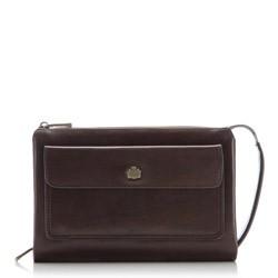 Handgelenk-Tasche, dunkelbraun, 10-3-375-4, Bild 1