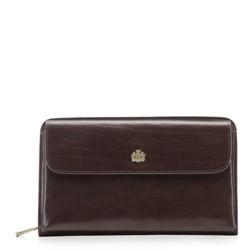 Handgelenk-Tasche, dunkelbraun, 10-3-376-4, Bild 1