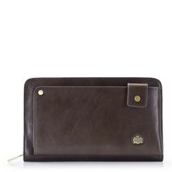 Handgelenk-Tasche, dunkelbraun, 10-3-377-4, Bild 1