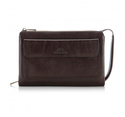 Handgelenk-Tasche, dunkelbraun, 21-3-375-4, Bild 1