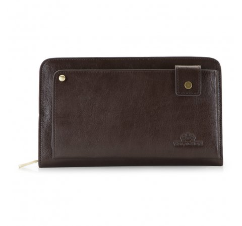Handgelenk-Tasche, dunkelbraun, 21-3-377-4, Bild 1