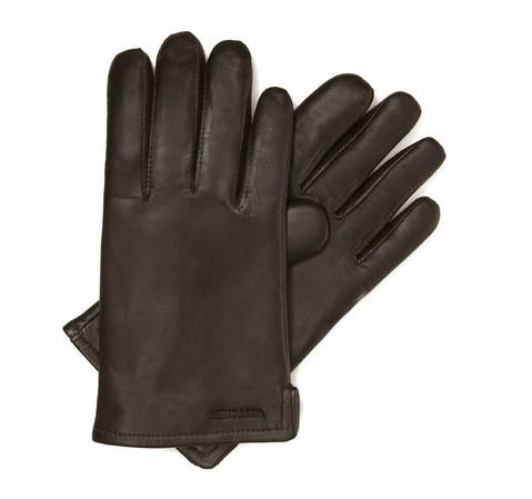 Herrenhandschuhe, dunkelbraun, 39-6-300-B-V, Bild 1