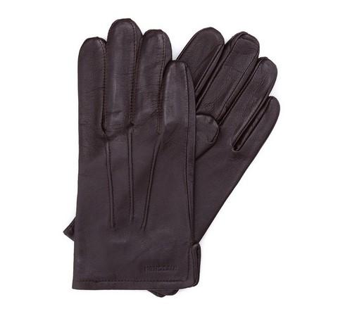Herrenhandschuhe, dunkelbraun, 39-6-308-0A-L, Bild 1