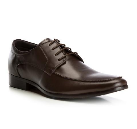 Männer Schuhe, dunkelbraun, 82-M-900-1-44, Bild 1