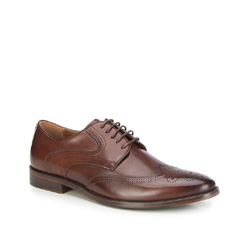 Männer Schuhe, dunkelbraun, 87-M-912-4-43, Bild 1
