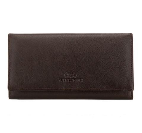Portemonnaie, dunkelbraun, 02-1-075-4, Bild 1