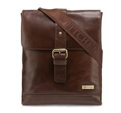 Postbote's Tasche, dunkelbraun, 85-4U-510-4, Bild 1