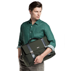 Laptoptasche, dunkelgrün, 86-3U-207-Z, Bild 1